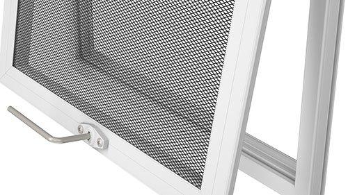 armadillo security screen operable locking sash